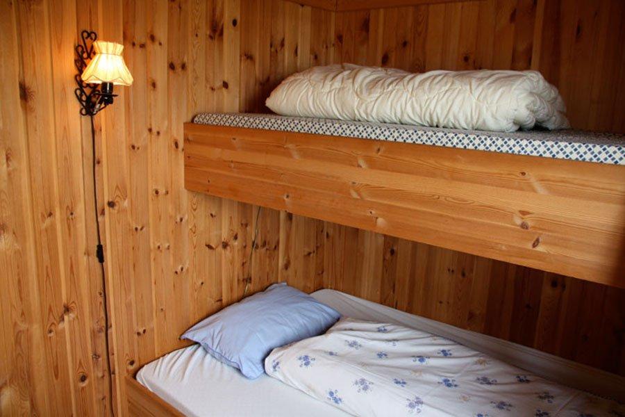 Gemütlich Familienbetten sorgen für eine angenehme Nachtruhe. (Typ 2)