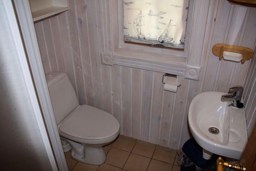 Die gut ausgestatteten Badezimmer (Typ 2)