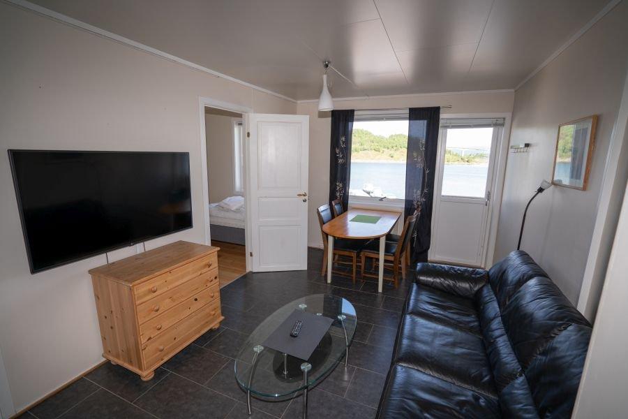 Wohnbereich Godøy.