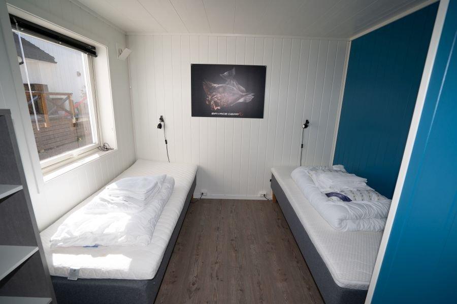 Eines der 3 Schlafzimmer Apartment Holmrosta.