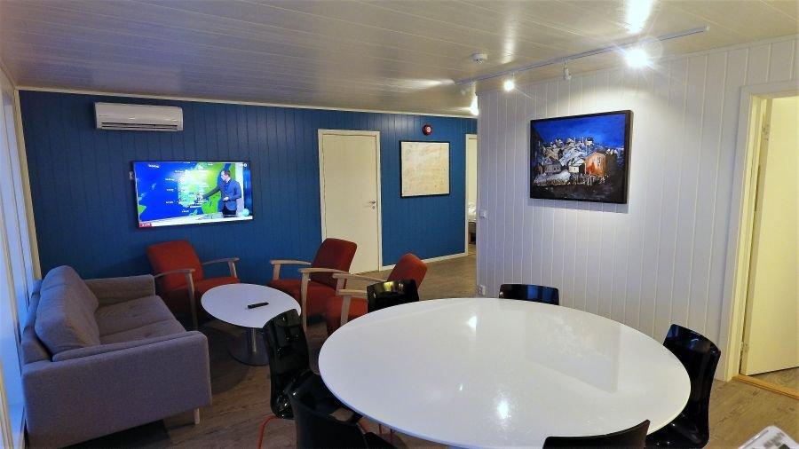 Apartment Holmrosta für 6 Personen.