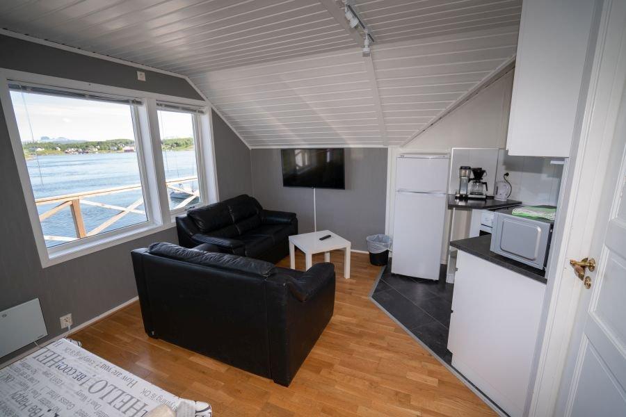 Apartment Rundholmen für 2 bis 4 Personen.