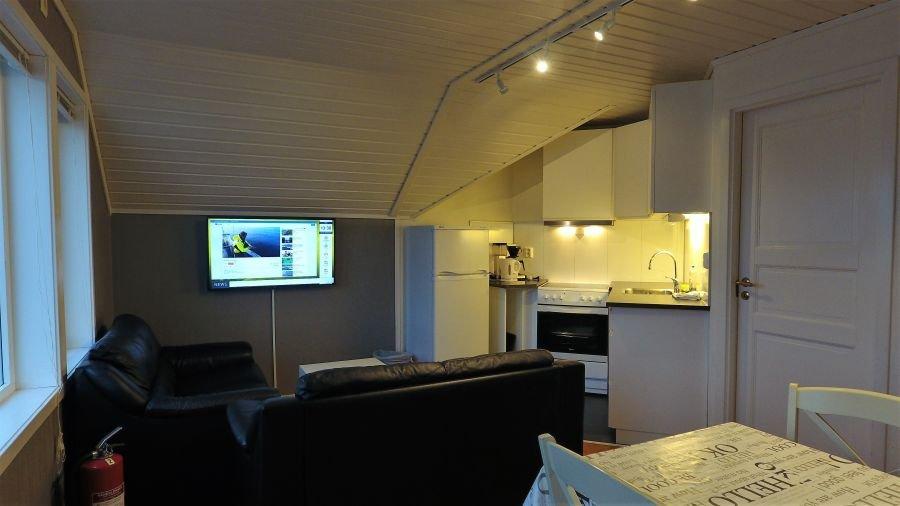 Apartment Rundholmen für 2 - 4 Personen.