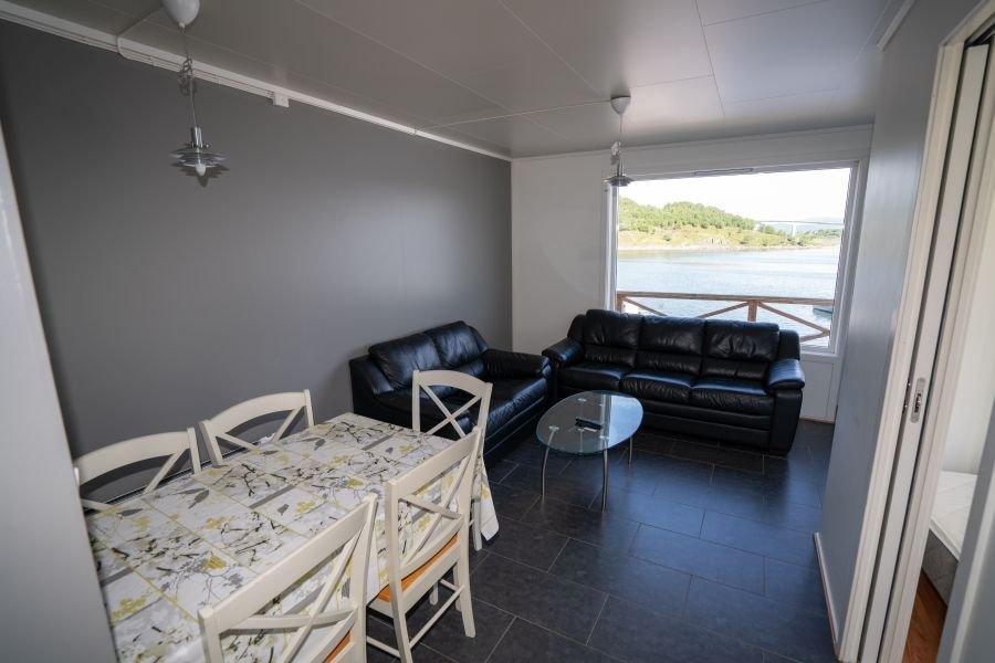 Wohnbereich Apartment Straumøy.