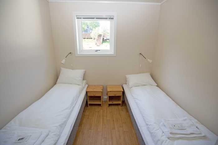 Eines der 2 Schlafzimmer in Apartment Godøy.