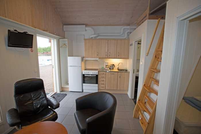 Wohnbereich Apartment (Captains Cabin).