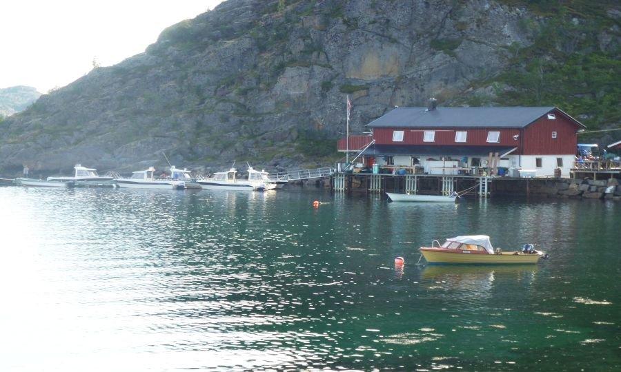 Die Marina von Lofotbrygga Brettesnes