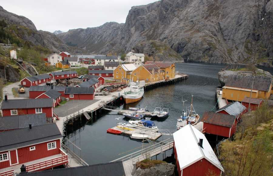 Highlight auf den Lofoten: Nusfjord Rorbuer!