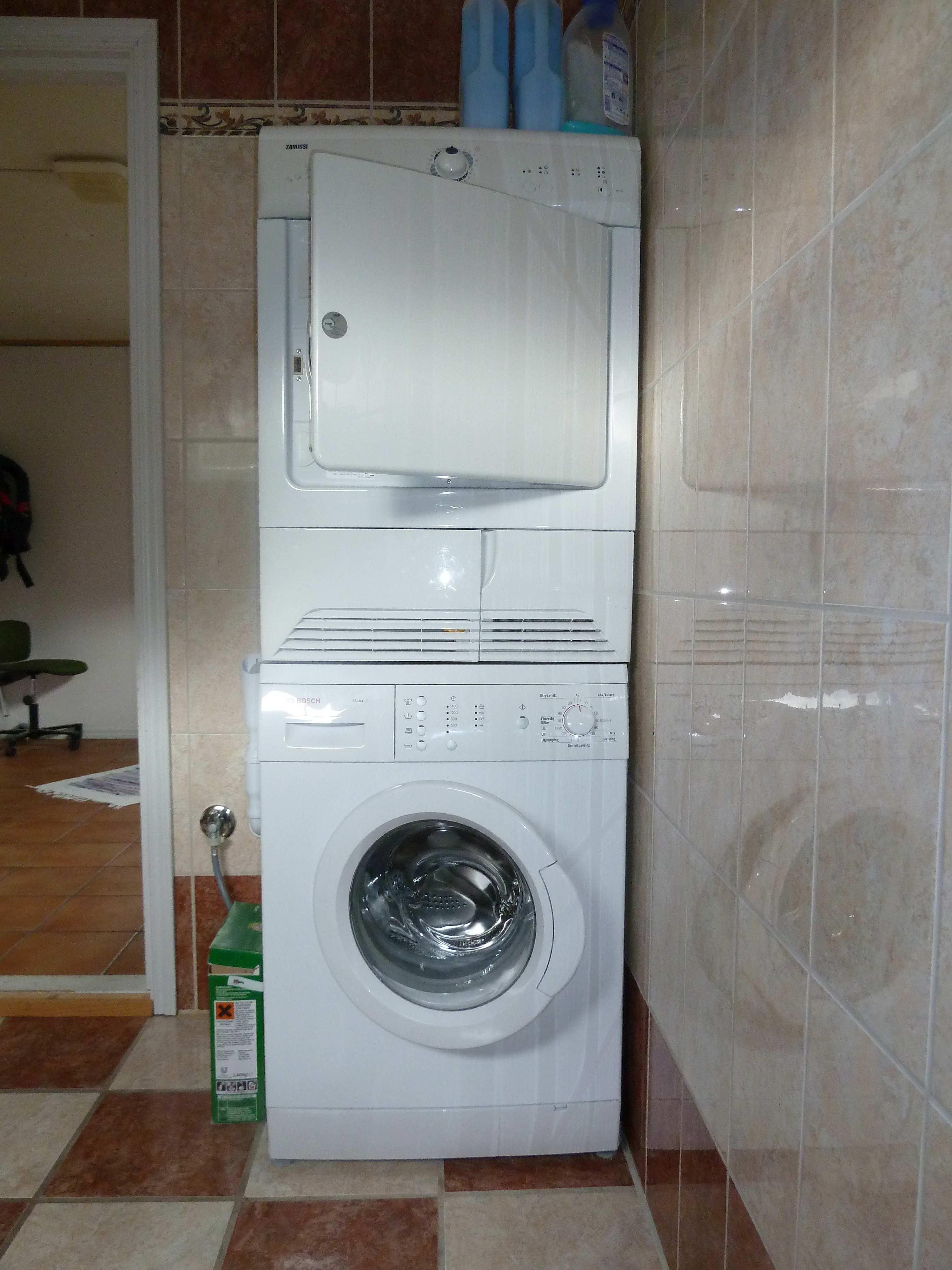 Praktisch - Waschmaschine und  Trocker stehen zur Verfügung