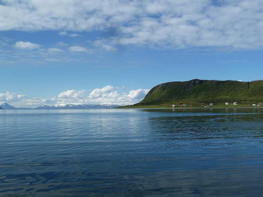 Der Ausgang der Bucht von Akkarvik