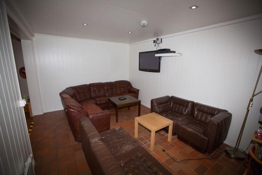 Der Wohnbereich im Apartment Typ 1.