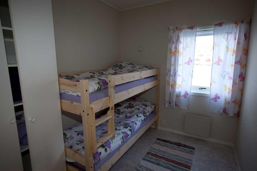 Eines der Schlafzimmer in Typ 2.