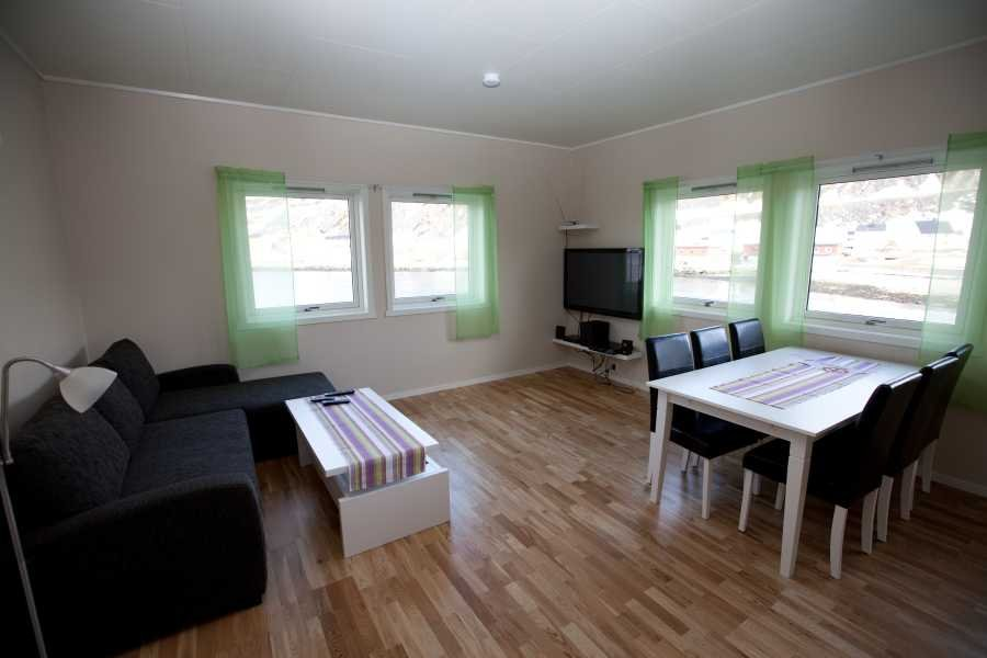 Das luxuriöse Apartment Typ 2 für 6 Personen.