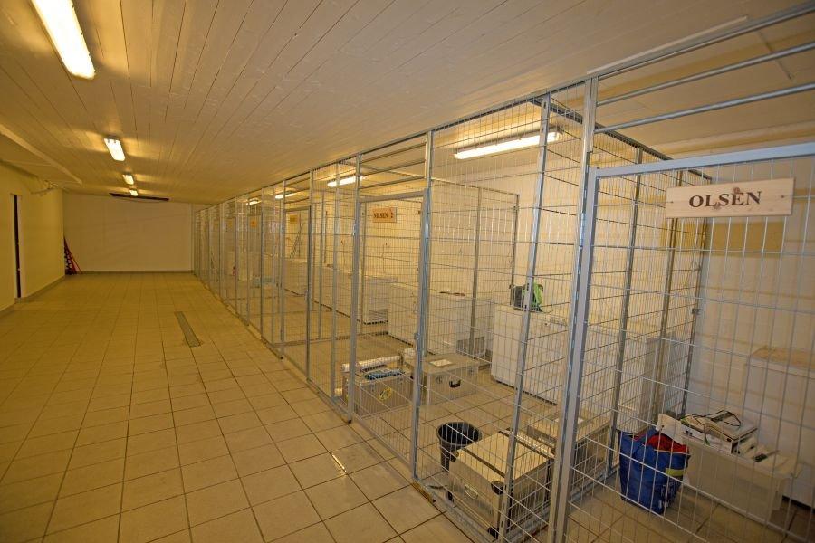 Für jedes Apartment steht im Basisgebäude am Hafen eine Box mit Gefriertruhe und Platz für Angelgerät und Floater zur Verfügung.