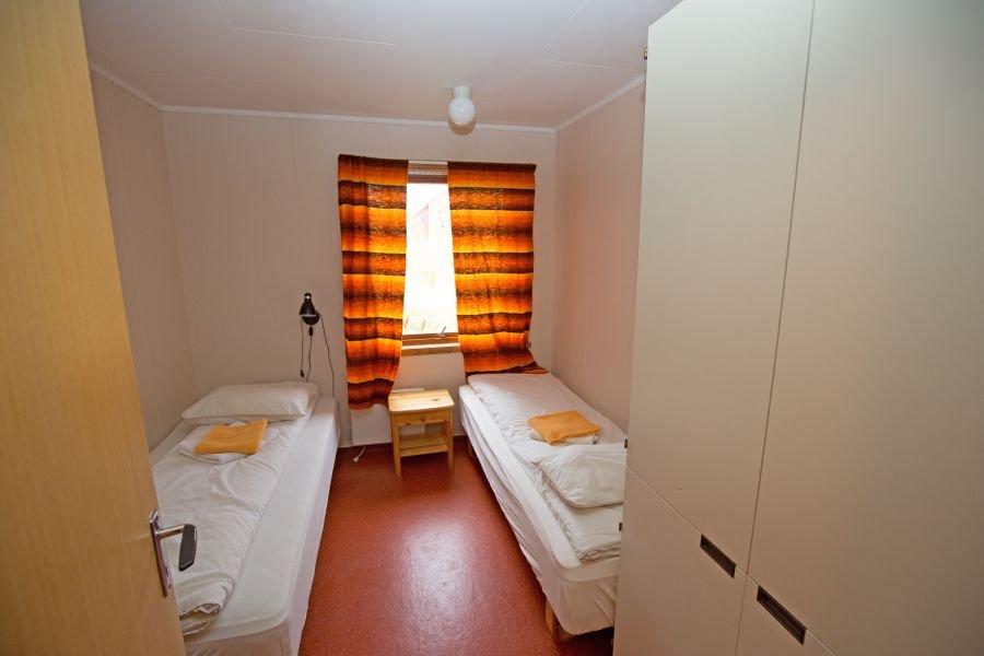 Schlafzimmer in Typ 1 und 2.