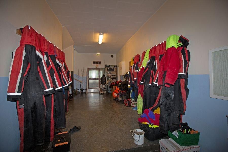 Floatation-Anzüge können gemietet werden.