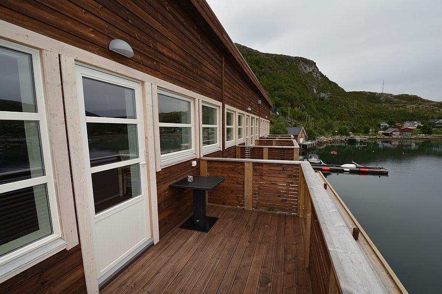 Auf den Balkonen kann man nach anstrengenden Drills neue Energie schöpfen.