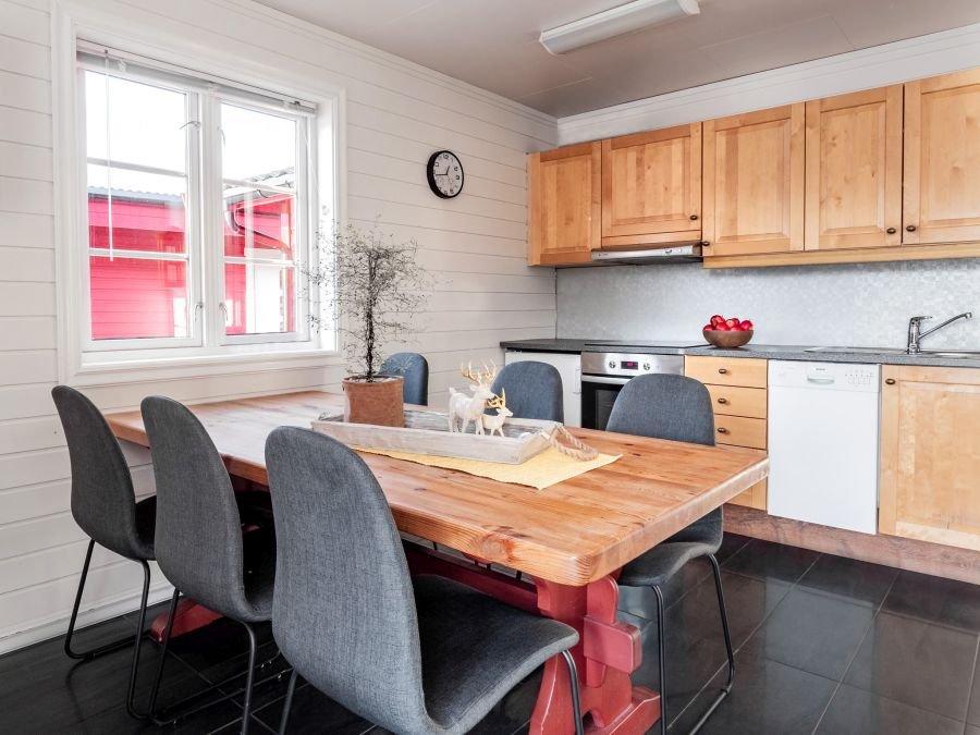 Ihren Fang können Sie in modernen, komplett ausgestatteten Küchen zubereiten!