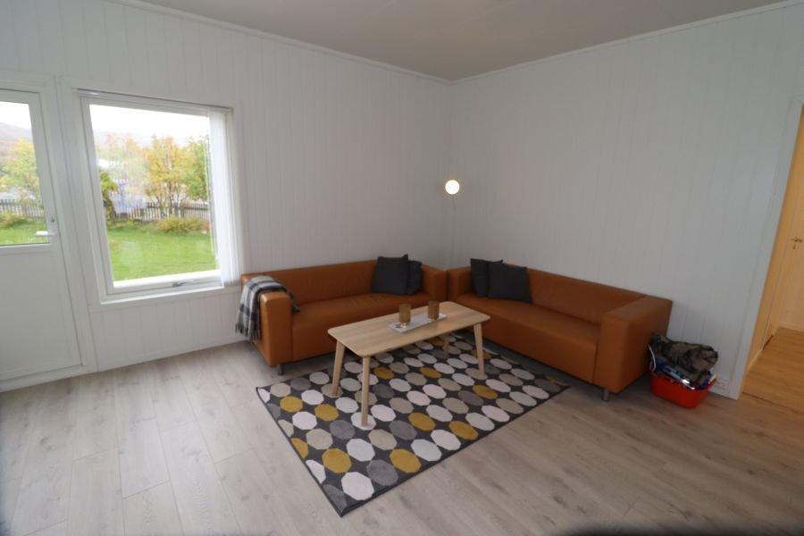 Wohnzimmer kleines Apartment.