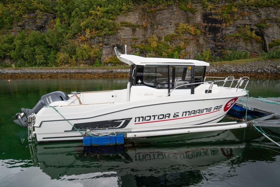 Top: 14 Jeanneau Marlin 795, 24,5 Fuß/150 PS, Echolot, GPS/Kartenplotter stehen den Gästen zur Verfügung.