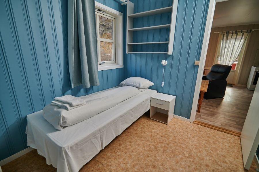 Schlafzimmer Ferienhaus.