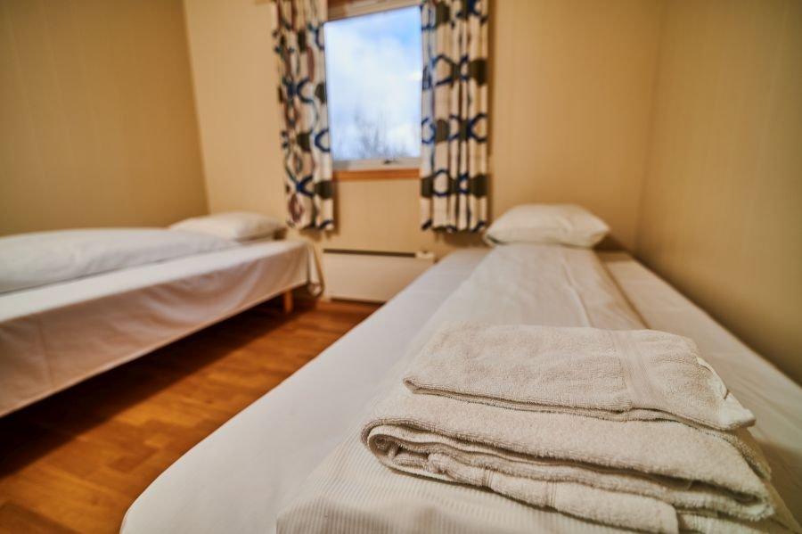 Schlafzimmer kleines Apartment.