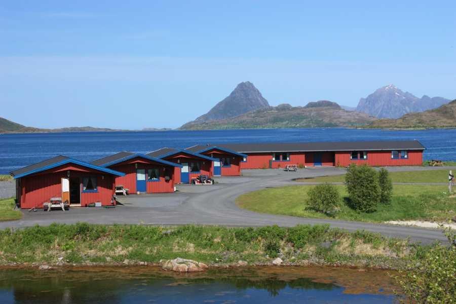 Das traumhafte Fjordcamp auf den Vesterålen.
