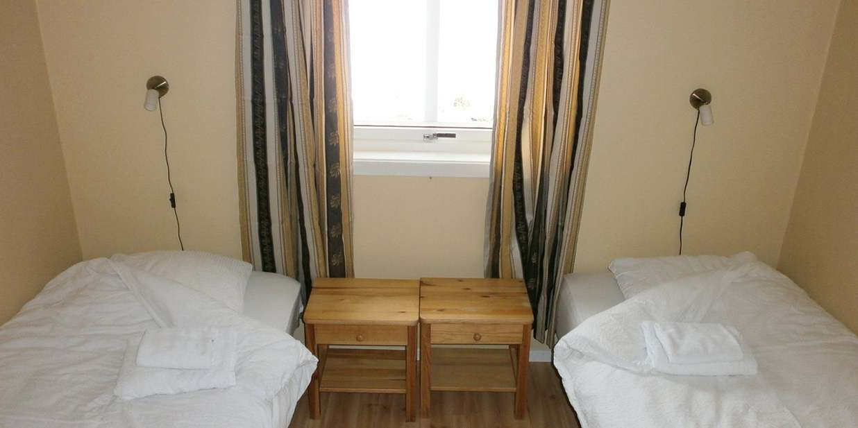 Schlafzimmer im Apartment.
