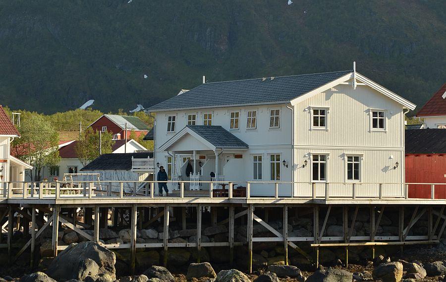 Die beiden Doppelhaushälften Ragna- und Solveigstua.