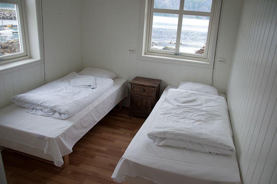 Eines der Schlafzimmer in Ragna- und/oder Solveigstua.