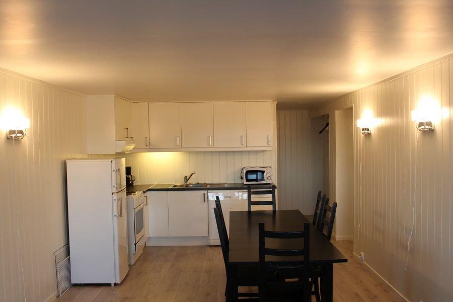 Esstisch mit Küche in Typ 3.