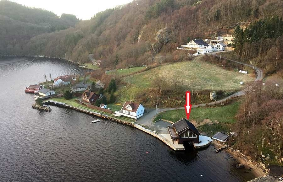 Ferienhaus Bjørsviga ist Teil einer winzigen Siedlung - einem ungestörten Urlaub steht hier nichts mehr im Wege