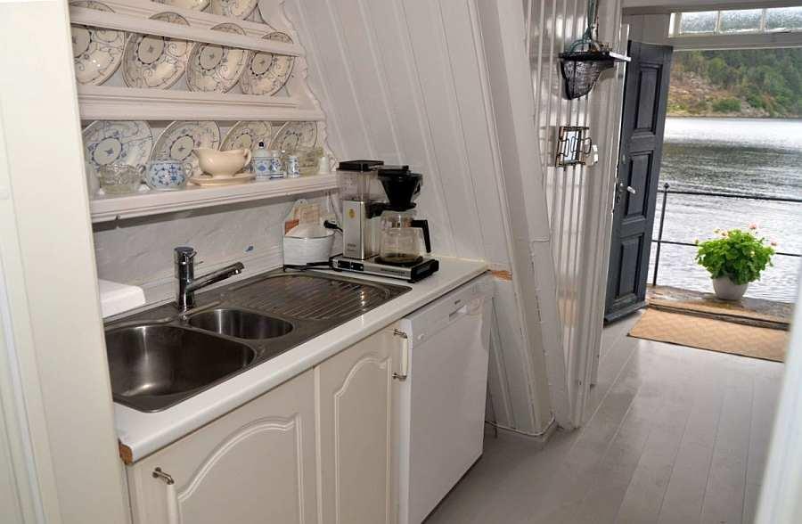 Die Küche des Hauses entspricht den heutigen Ansprüchen an Komfort