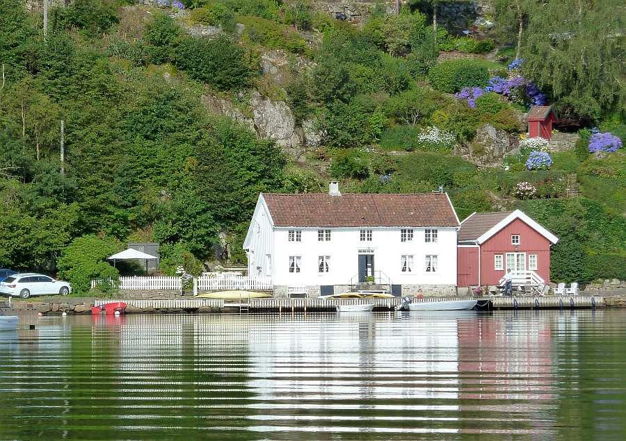Ferienhaus Eikvåg: eine absolute Südküstenperle - ein originales Küstenhaus aus dem 18. Jahrhundert
