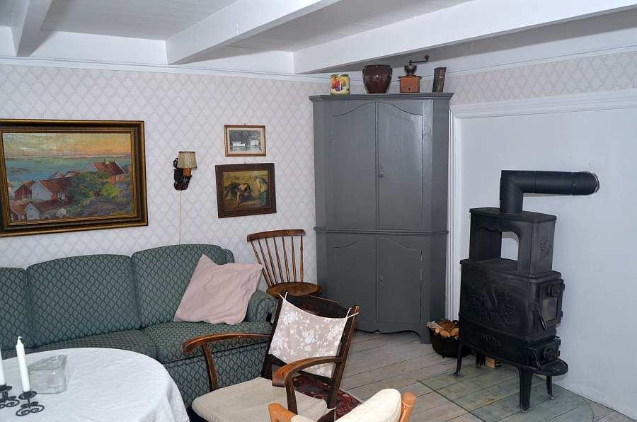 Im ganzen Ferienhaus ist der historische Charakter des Hauses erhalten worden