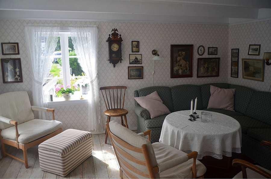 Das Wohnzimmer des Ferienhauses