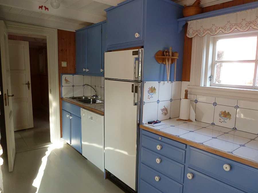 Übergang von der Küche zum Flur