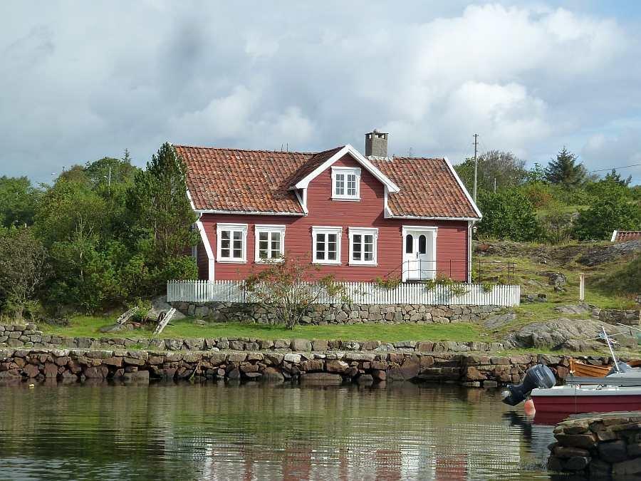 Ferienhaus >Fjeldet< - die perfekte Lage direkt am Wasser