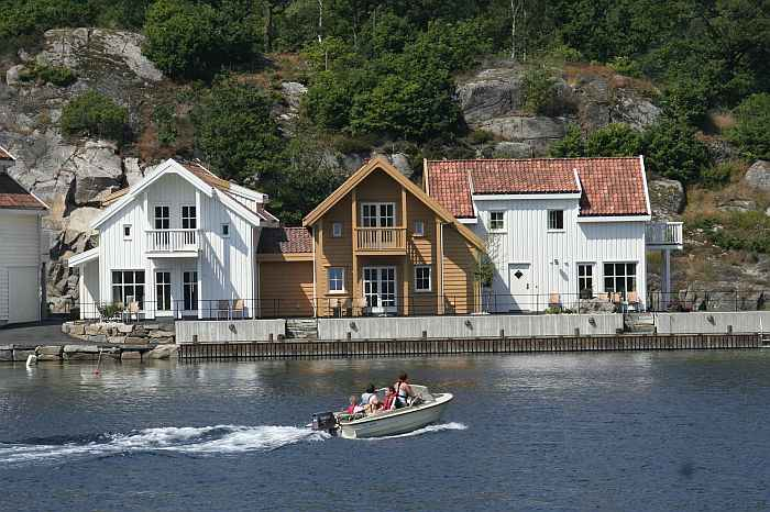 Schön gelegen: Das Farsund Resort