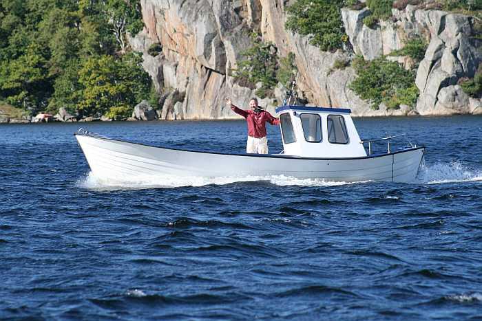 Top-Dieselboot! Und sehr schnell...