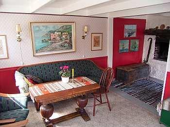 Der gemütliche Wohnbereich des Hauses Malakka