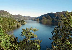 Einen Ausflug mit dem Boot: Der Schwefelfjord Framvaren