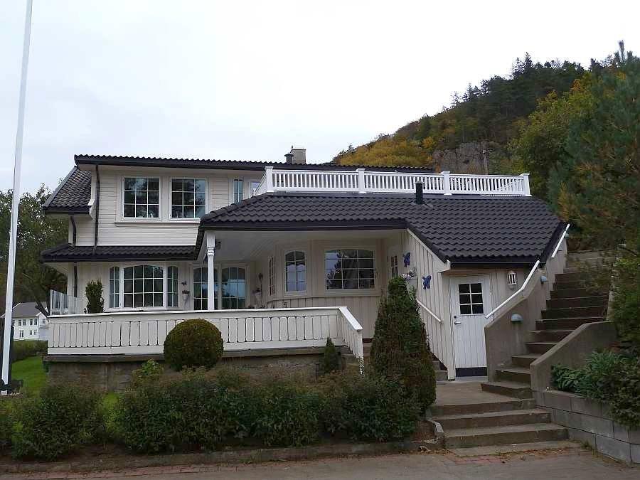 Die mietbare Ferienwohnung im Haus liegt in der kompletten oberen Etage des Hauses