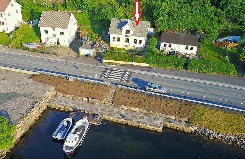 Haus Rømy liegt nur ca. 25 Meter vom Wasser entfernt