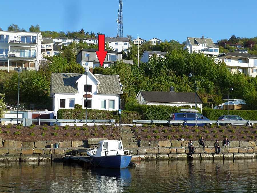 Ferienhaus Rømy  mit Lage direkt am Lyngalsfjord - die perfekte Ausgangsposition zum Fischen in den Gewässern bei/vor Farsund