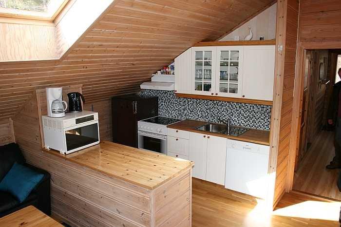 Die offene Studioküche