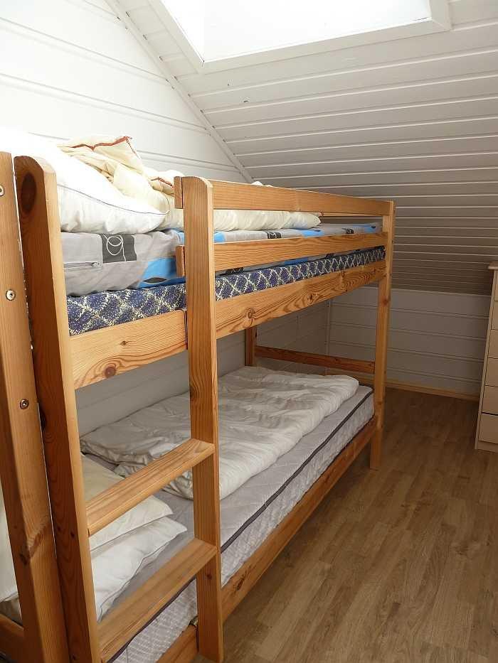 Schlafzimmer mit einem Etagenbett
