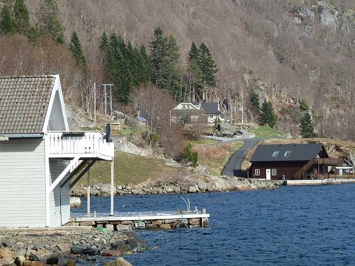 Kann ein Haus näher am Wasser liegen?