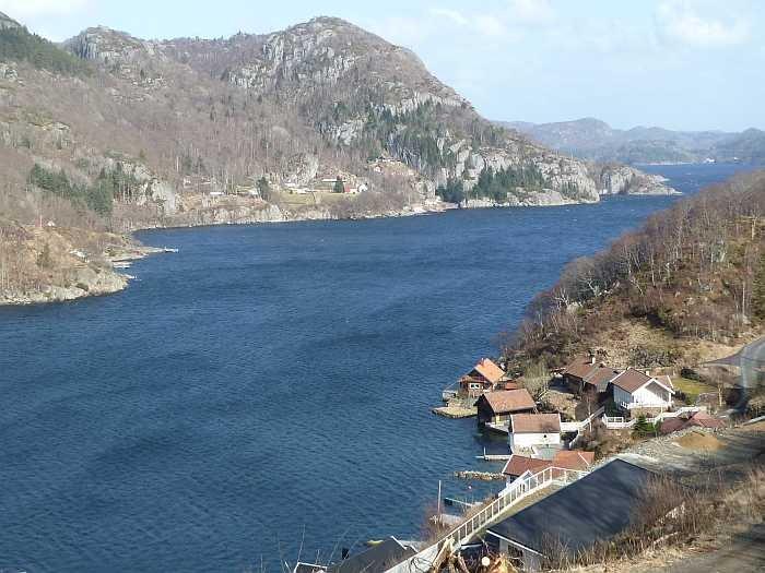 Blick auf den Sellegrodfjord