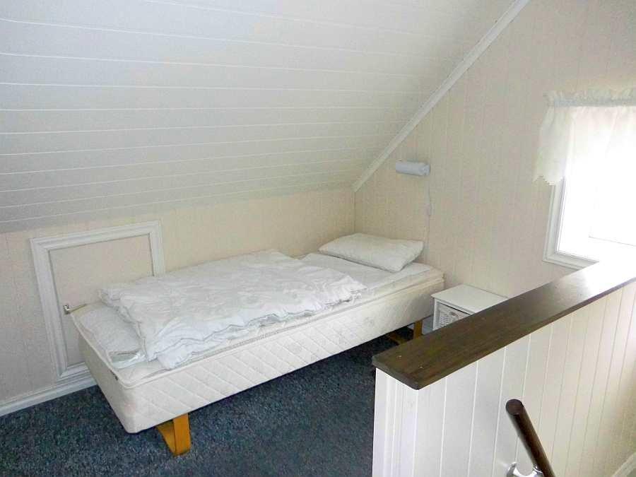 Schlafraum im Hems mit zwei Einzelbetten